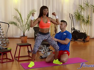 Angelo Godshack fucked sporty deadly teen Lola Marie