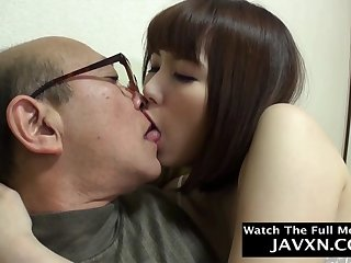Exciting Japanese Teen Fucks With Old Balls up