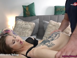 MyDirtyHobby - Gorgeous babe Hanna Suffocating made him cum twice in her mouth
