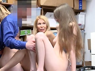 Police cock interrogating with the addition of fucked office unladylike xxx